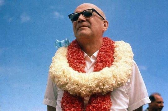 Kekkonen Hawaijilla vuonna 1961. Kuva: Wikimedia Commons
