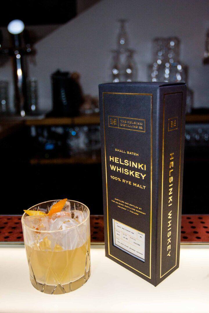 HDCO 100 rye whiskey sour