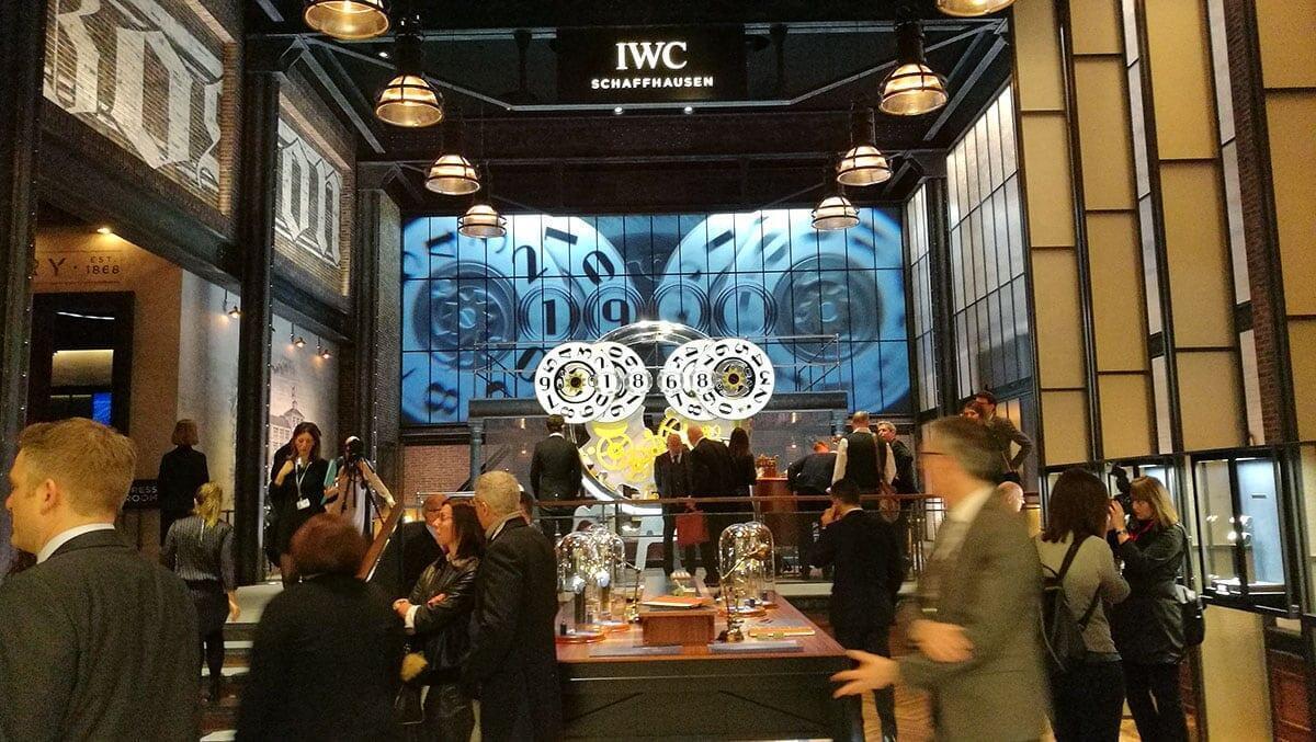 IWC:n osasto oli näyttävä.