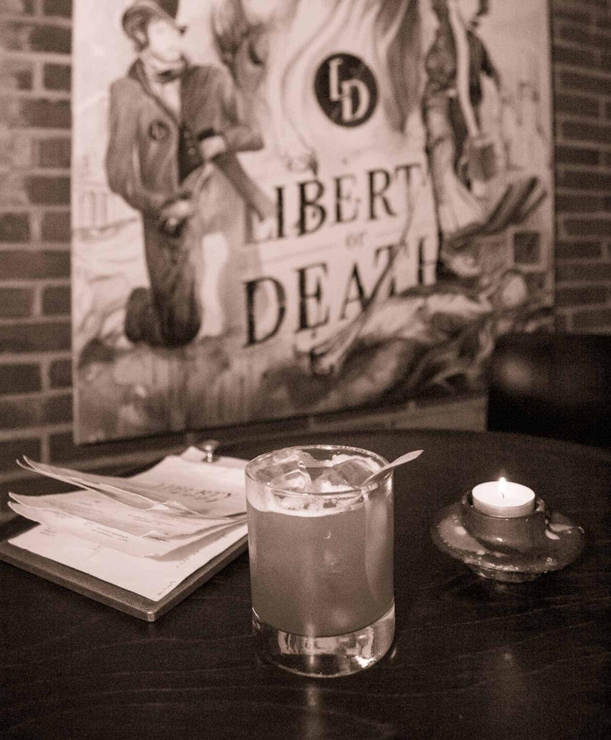 Liberty or Death Whiskey Sour
