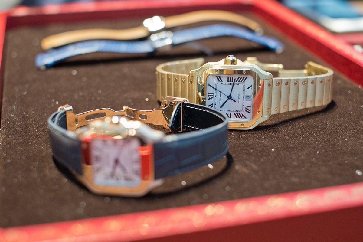 Cartier Santos -mallistoa.