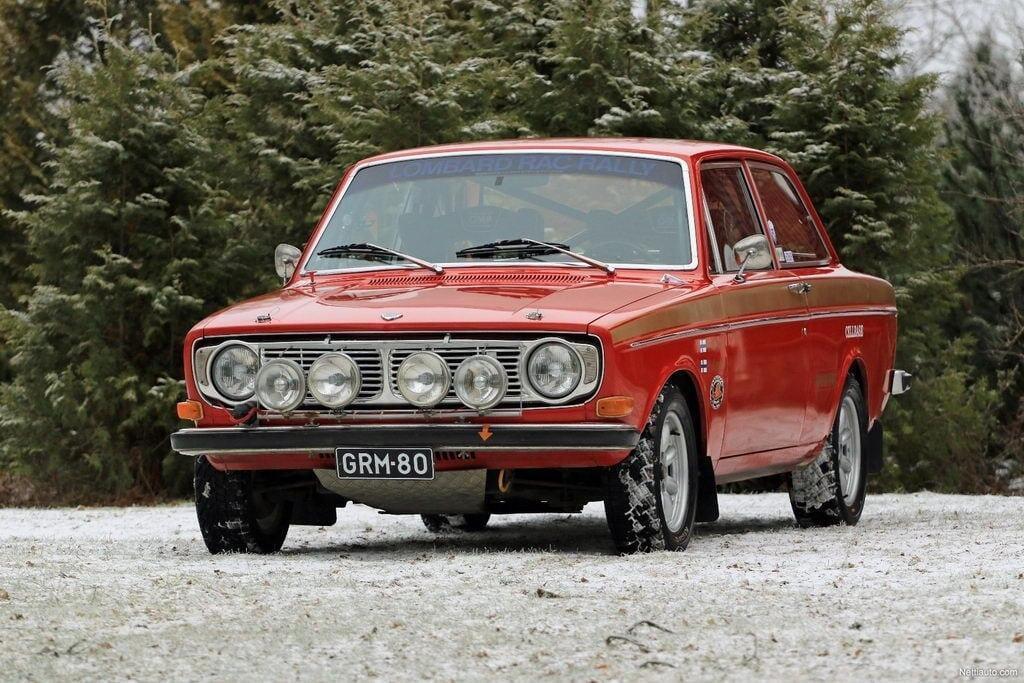 Volvo 142 Historic Rally