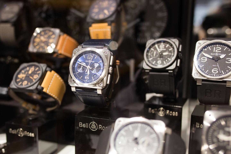 Bell & Rossin kelloja Aseman Kellon valikoimista.