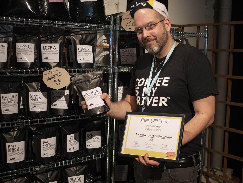 Suomen paras suodatinkahvi löytyy puolestaan Caffilta.
