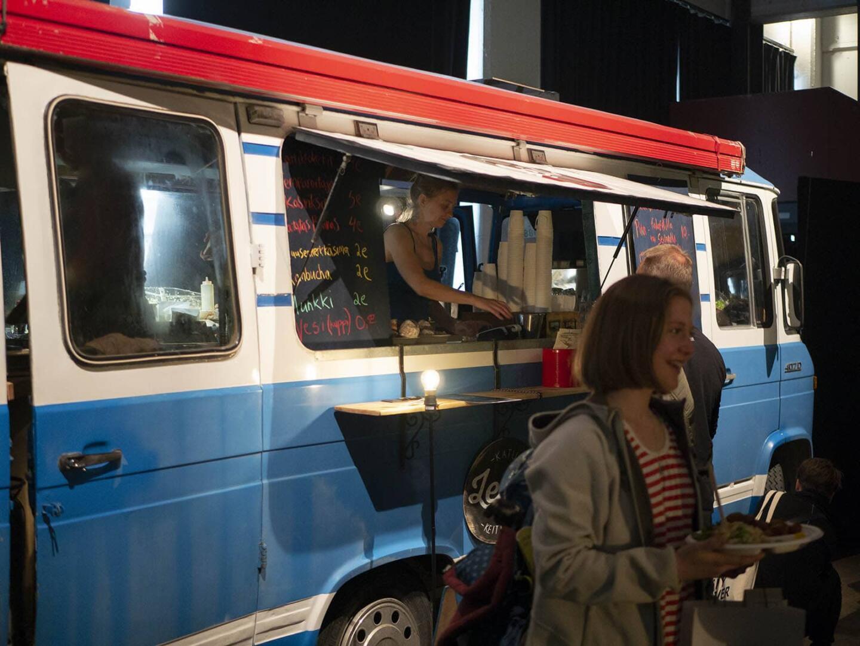 Tapahtumassa tarjottiin street foodia.