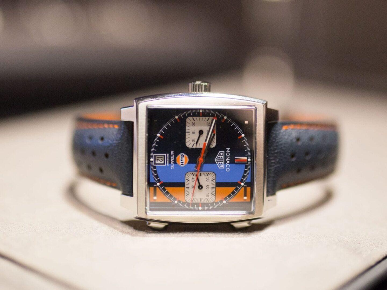 TAG Heuer Monaco Gulf Special Edition 50th Anniversary