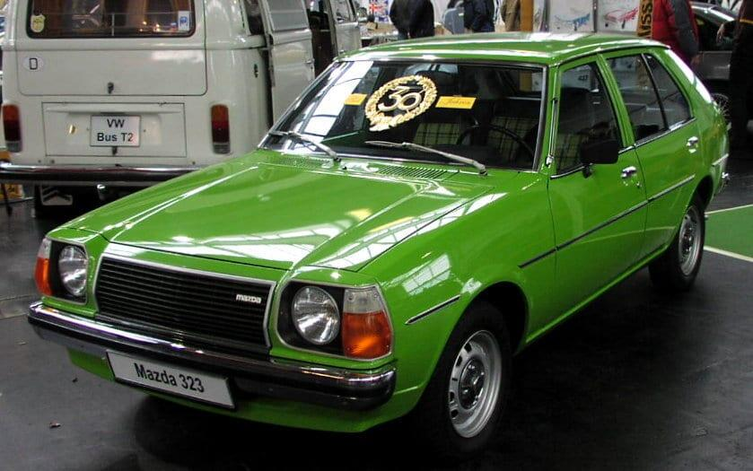 Jokamies Mazda 323