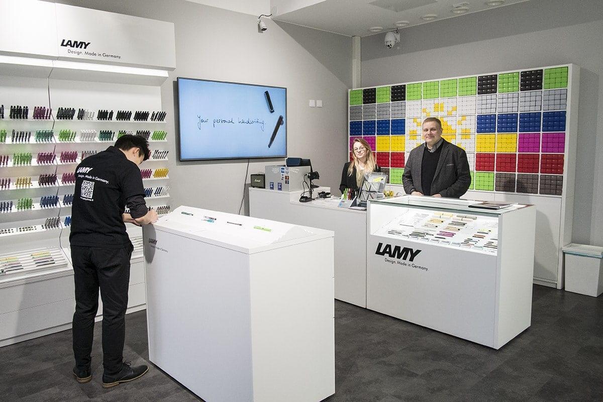 Lamyn Suomen myymälä. Kuva: Ville Hildén