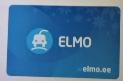 Jokamies-Sähköauton-lataus-Virossa-ELMO-kortti