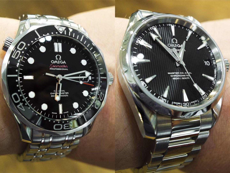 Omega Seamaster 300M 212.30.41.20.01.003 Omega Aqua Terra 231.10.39.21.01.002