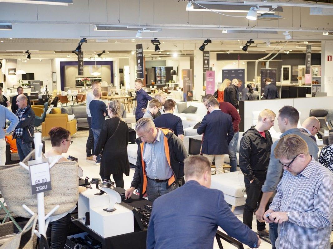 Aika tyylikäs Oulu järjestettiin Iskun tiloissa 7.9.2018