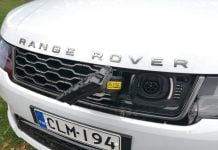Range Rover lataushybridi