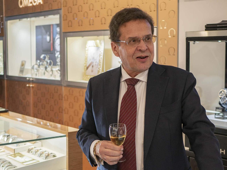 Aseman Kellon Seppo Kallioniemi toivotti vieraat tervetulleeksi Kellomieskeskiviikkoon.