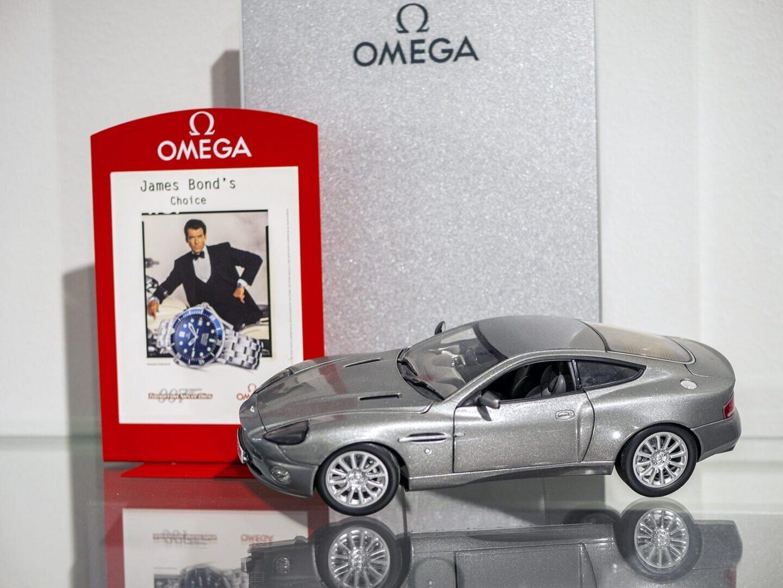 Omega tunnetaan James Bond -elokuvien pitkäaikaisena sponsorina.