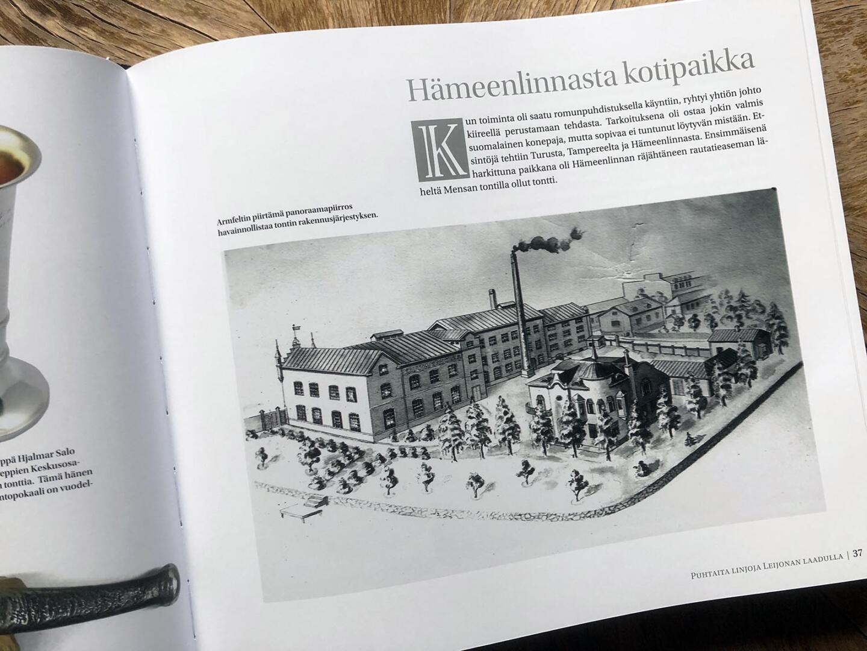 Kultakeskus 100 - Hämeenlinnan tehdas