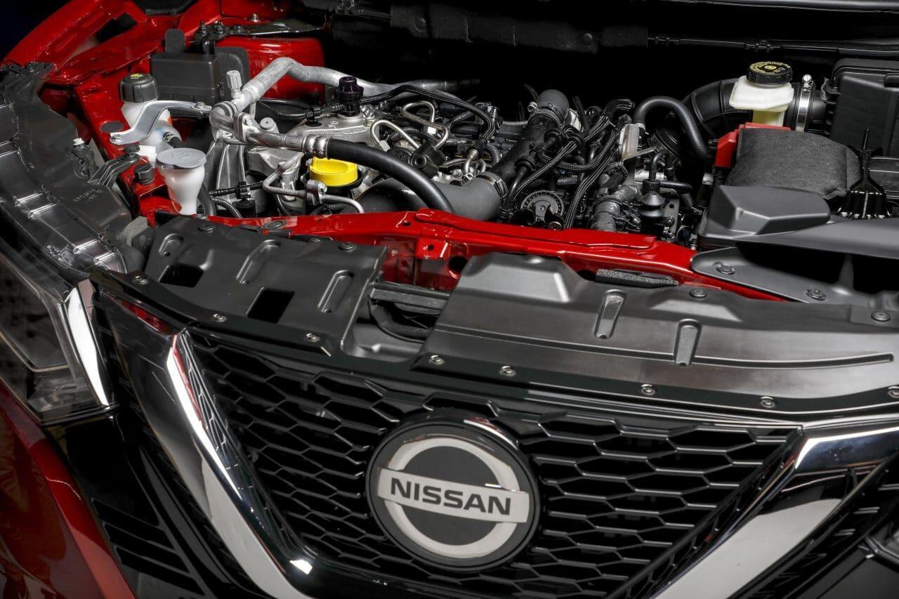 Nissan Qashqai moottori