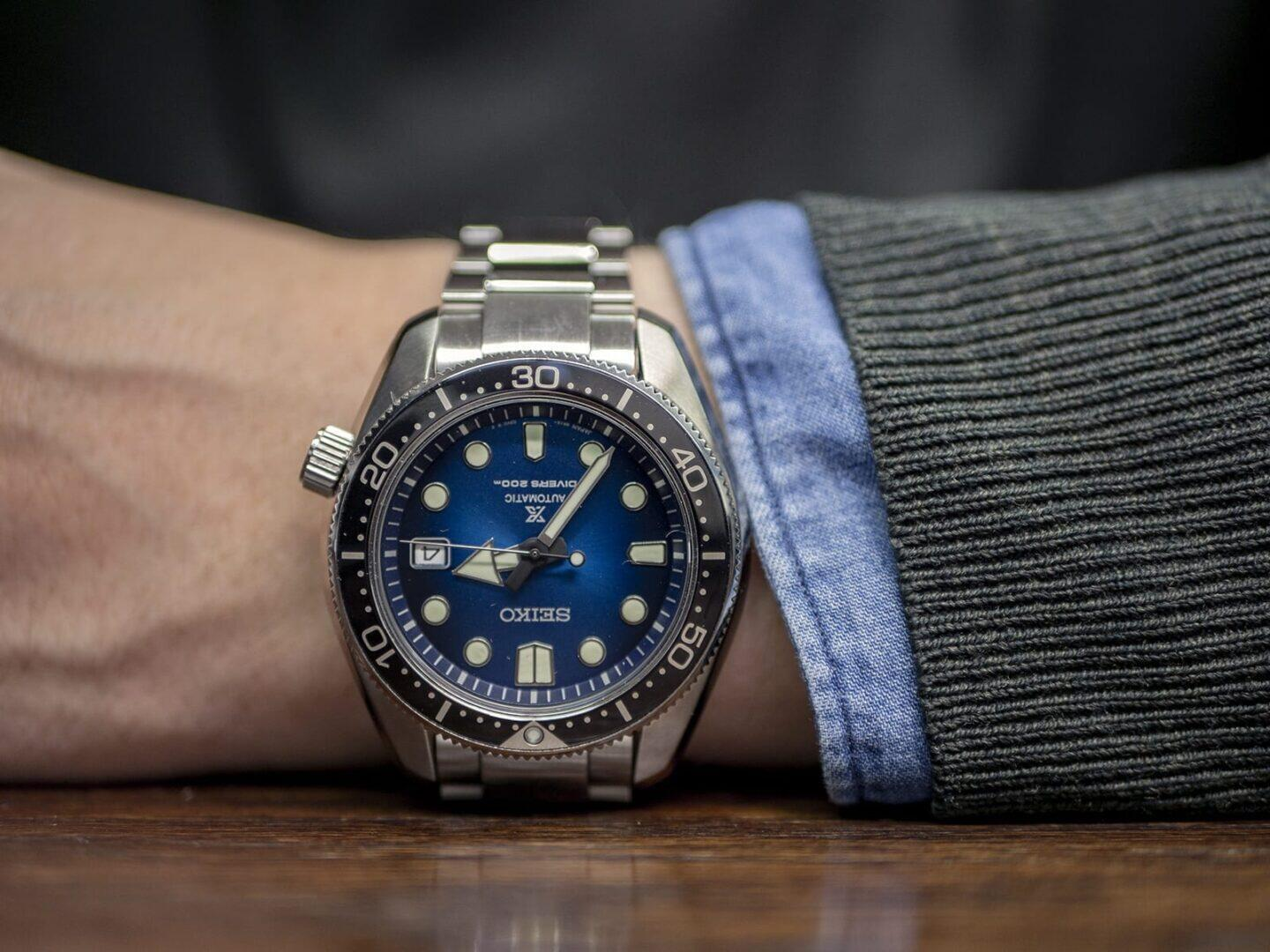 Seiko Prospex Great Blue Hole Special Edition 1968 (SPB083J1) -sukeltajankello