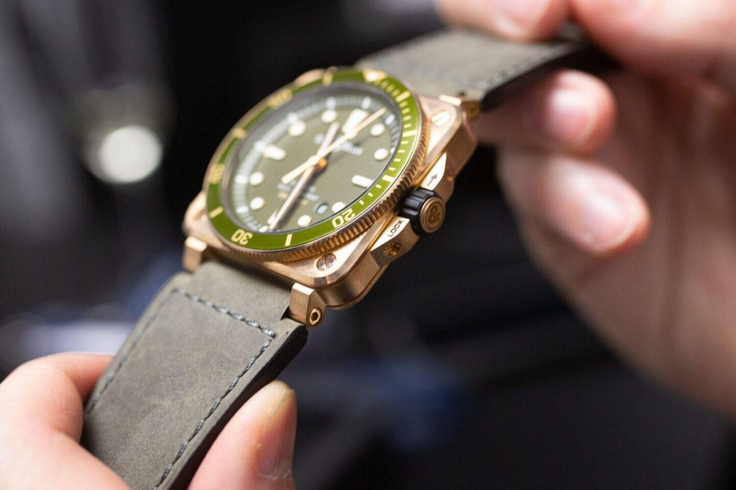 Bell & Ross BR 03-92 Diver Green Bronze Automatic