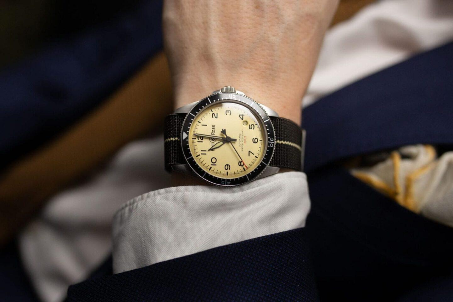Bell & Ross BR V2-92 Military Beige Automatic