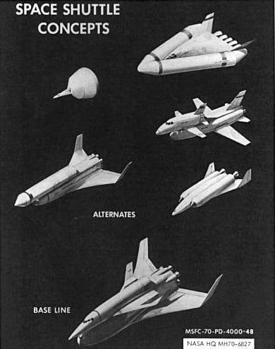Jokamies Enterprise - Space Shuttle concepts