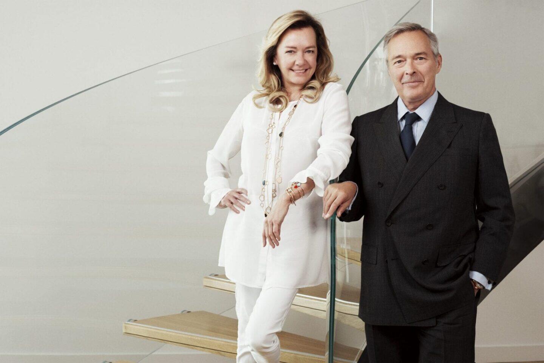 Caroline Scheufele ja Karl-Friedrich Scheufele.