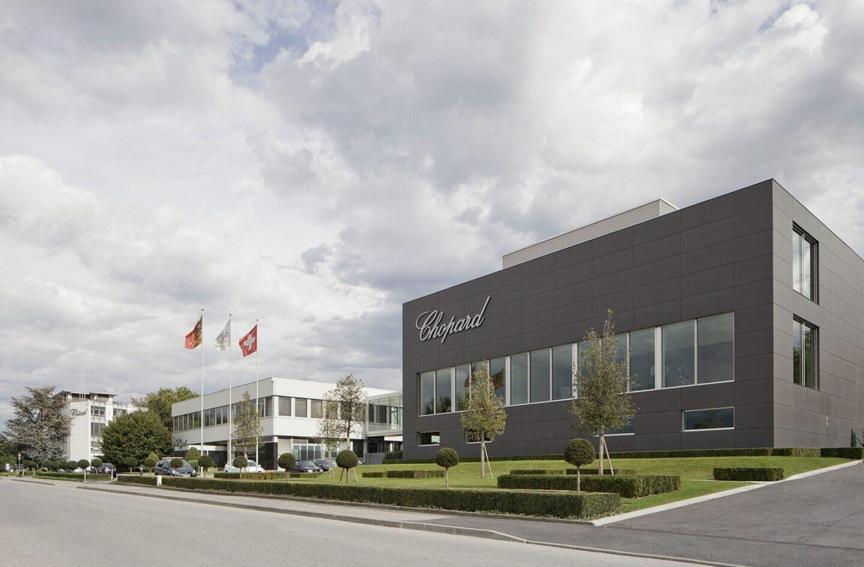 Chopardin pääkonttori Meyrinissa, Sveitsissä.