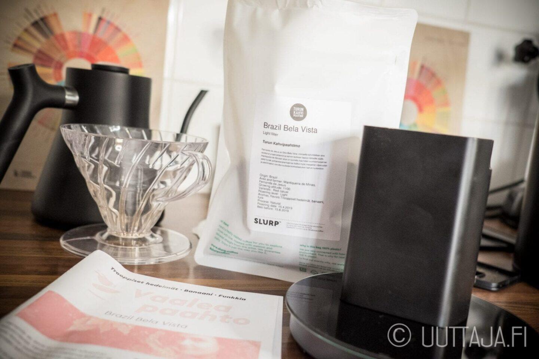 Turun Kahvipaahtimo Brasil Bela Vista -kahvi
