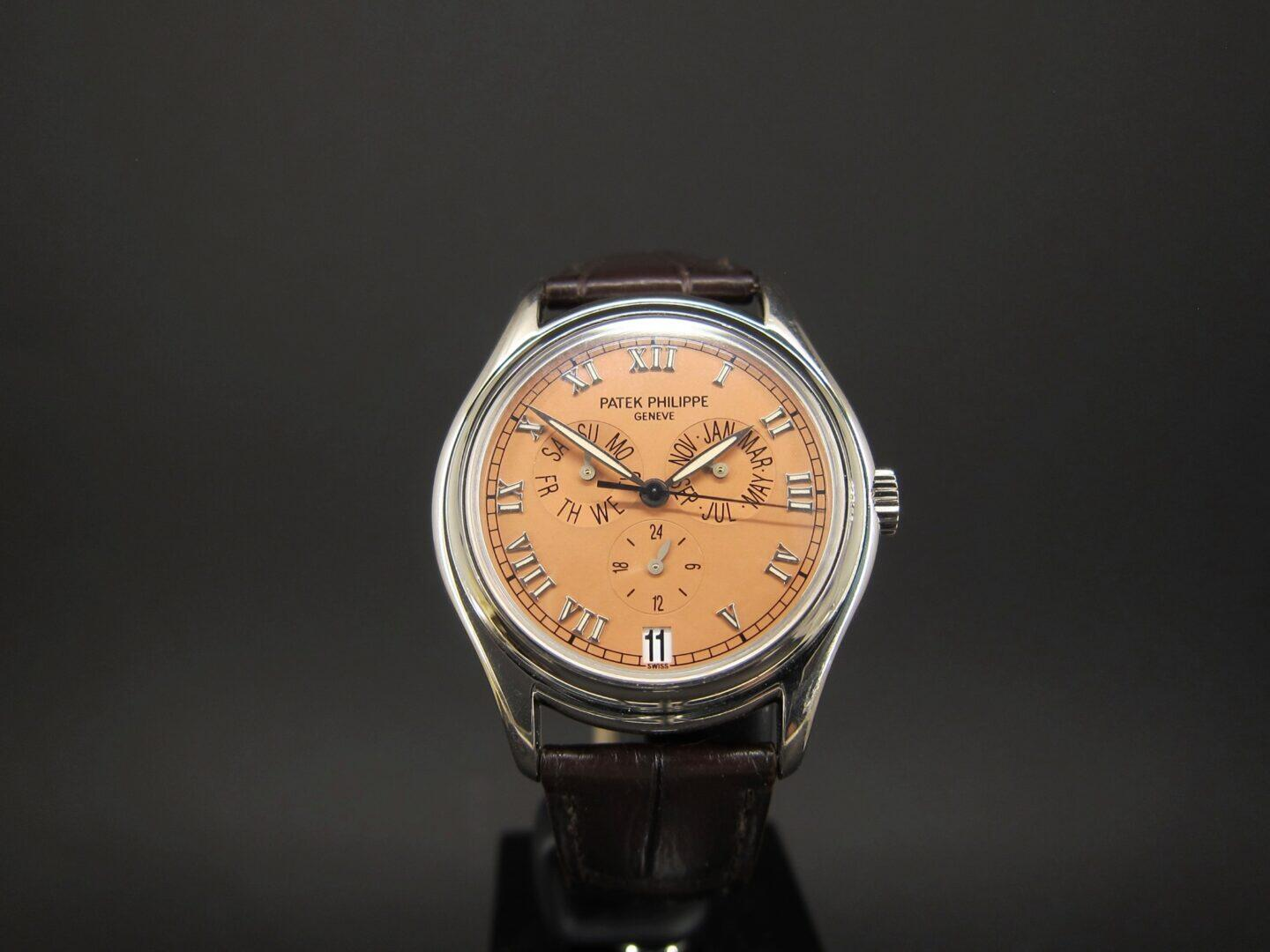 Patek Philippe Complications Annual Calendar 5035G Salmon Dial