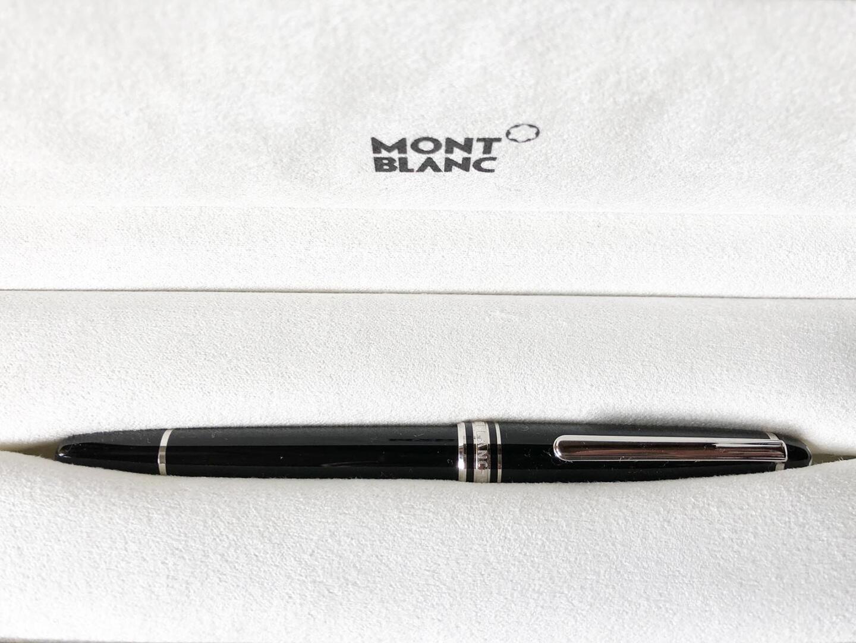 Kuukauden kynä: Montblanc 163 Classique Meisterstück Rollerball Pen Platinum Line