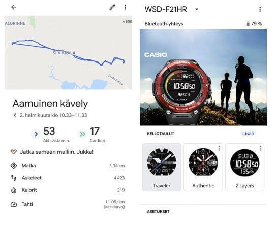 Casio Pro Trek WSD-F21HR