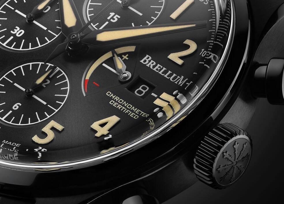 Brellum PILOT Power Gauge LE.1 Chronometer
