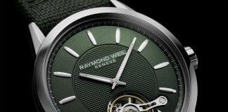 RAYMOND WEIL, FREELANCER CALIBRE RW1212, GREEN 2780 STC 52001