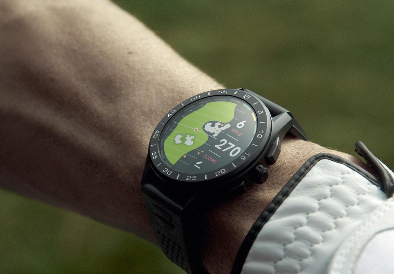 TAG Heuer Connected on markkinoiden parhaita golf-älykelloja.