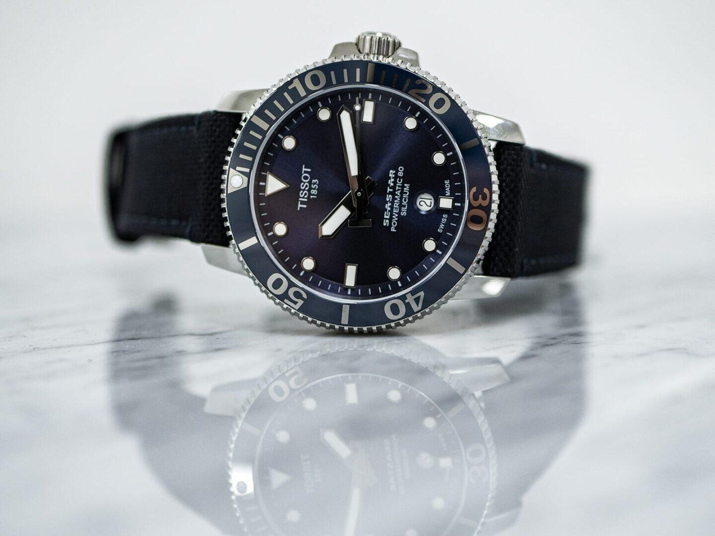 Tissot Seastar 1000 Powermatic 80 Silicum