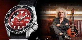 Seiko 5 Sports Brian May Limited Edition
