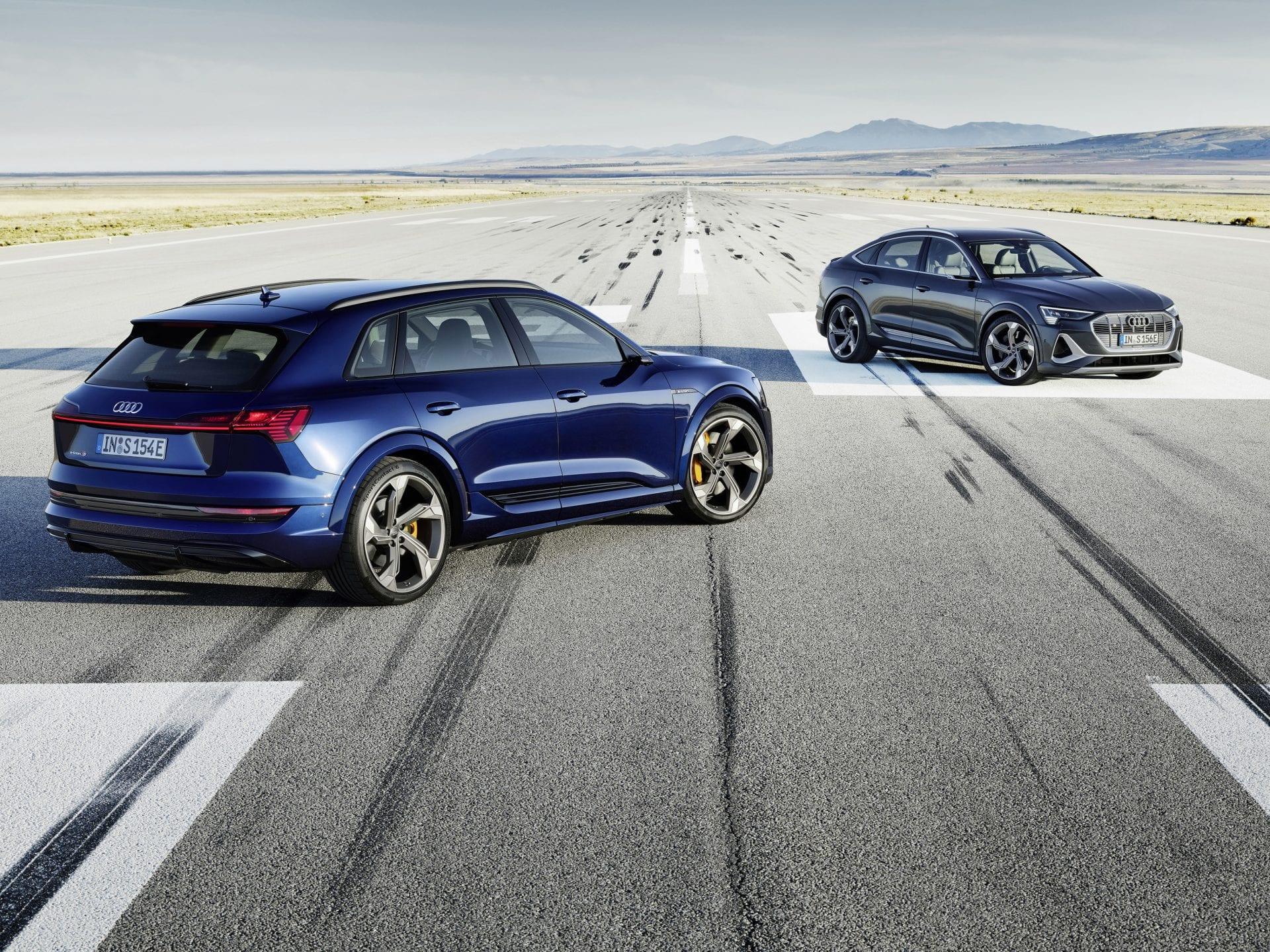Audi e-tron S ja e-tron Sportback