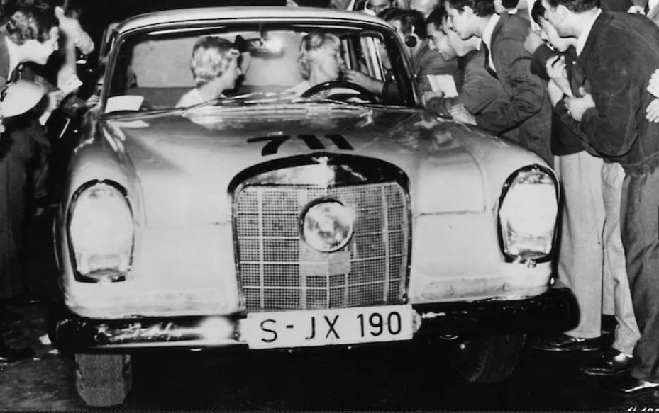 Voittajapari E. Rosqvist, U. Wirth, Argentiina 1962.
