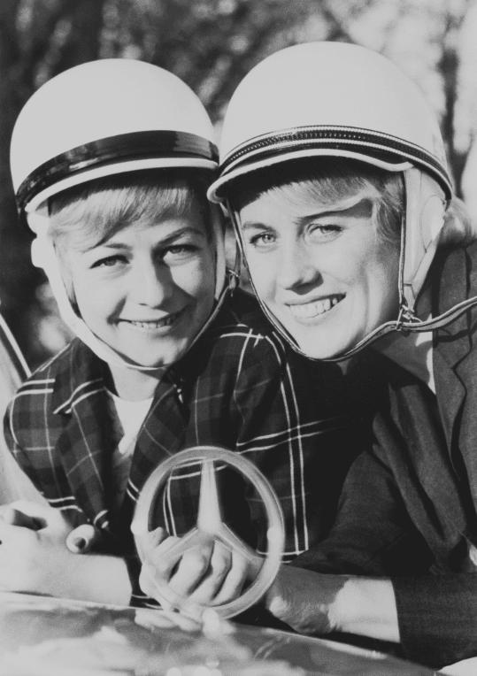Ursula Wirth ja Ewy Rosqvist vuonna 1963.