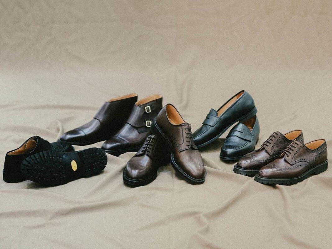 Crockett & Jones x Tärnsjö -kenkämallisto.