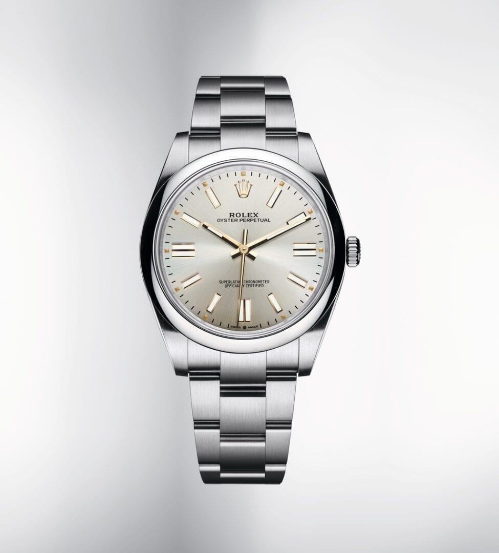 Rolex Oyster Perpetualin klassiset linjat.