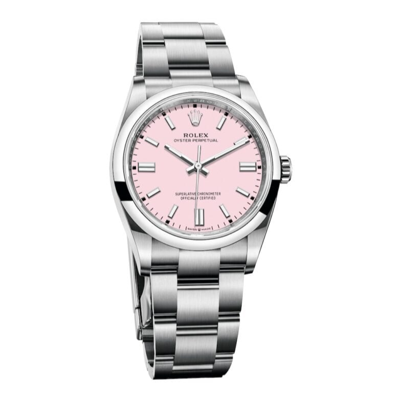 Rolex Oyster Perpetual Pink Cadillac