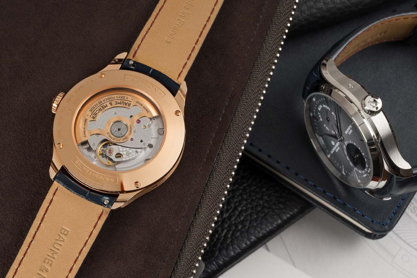 Clifton Baumatic Day Date Moon Phase