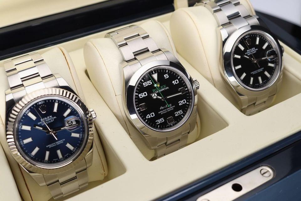 Rolex Datejust ja Air-King -kolmikko