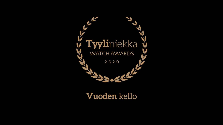 Tyyliniekka Watch Awards 2020 - Vuoden kello