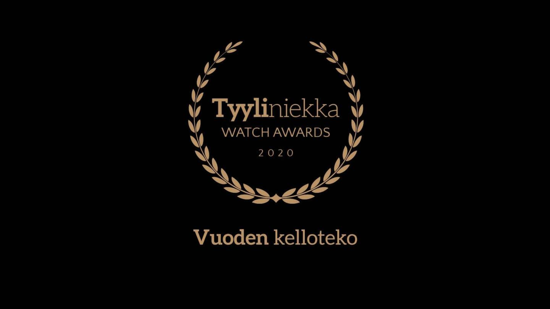 Tyyliniekka Watch Awards 2020 - Vuoden kelloteko