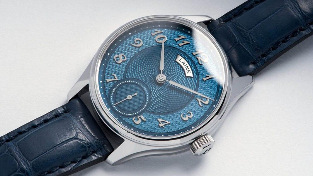 Laine GG3 Blue with alligator strap