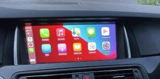 BMW Apple CarPlay päivitys